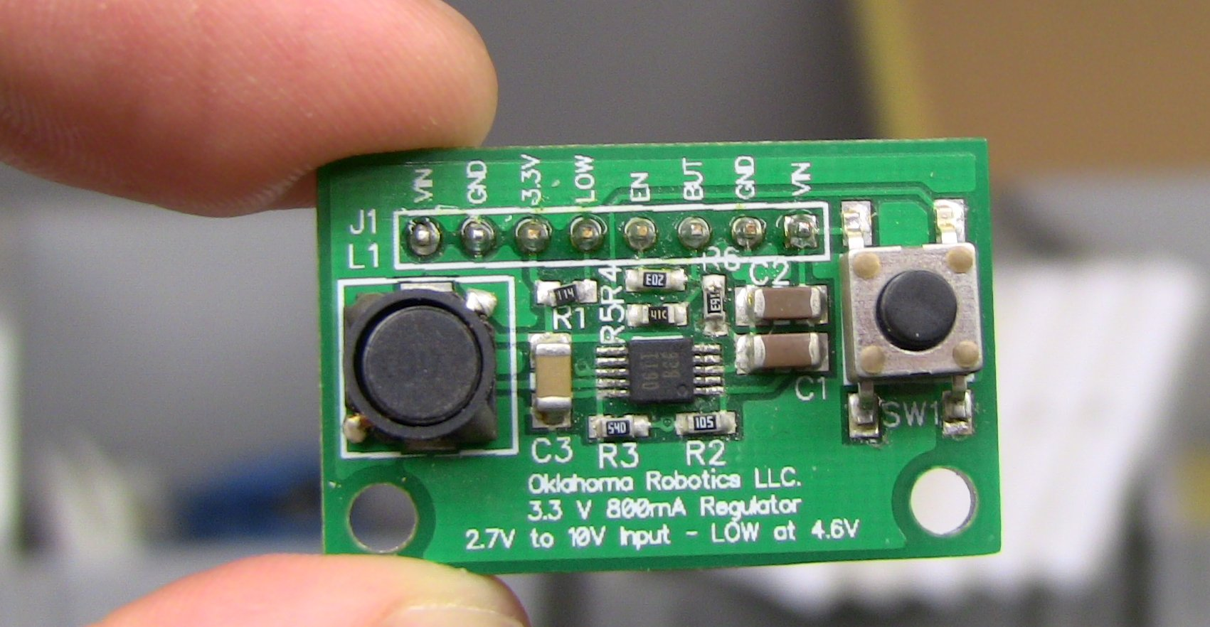 Regulator Board Front