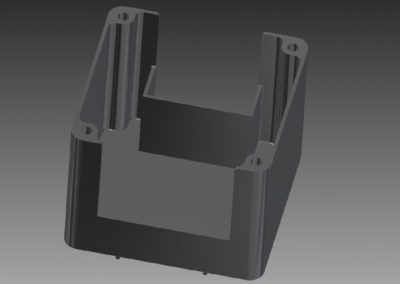 Custom Battery Compartment Extrusion